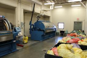 Laundry facility at TSCS