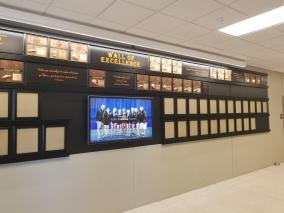 Fort Calhoun wall of excellence plaques