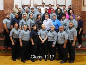 Staff Training Academy graduating class
