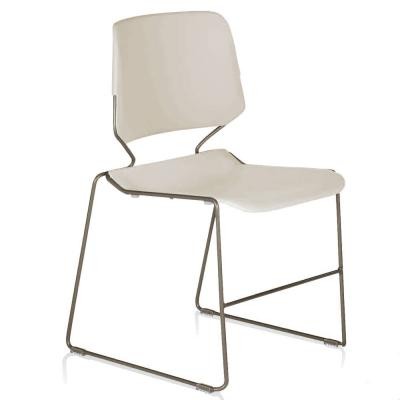 Dakota chair, white, no arms