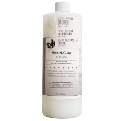 bottle of mist-n-shine floor cleaner