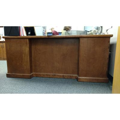 front view of a desk