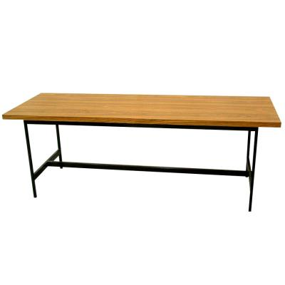 METAL H-FRAME TABLE
