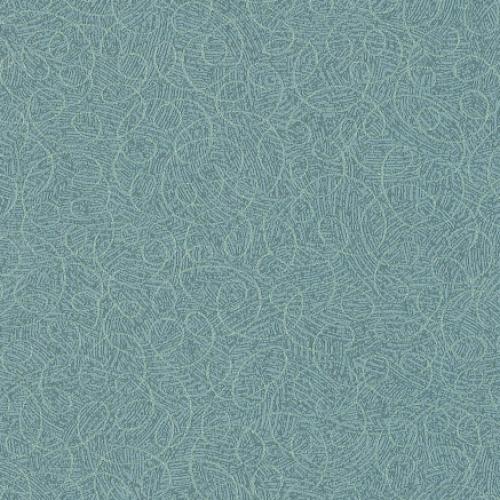 Tier 2 Curlicue Vinyl - Aqua