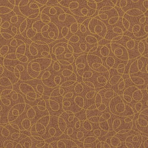 Tier 2 Curlicue Vinyl - Copper