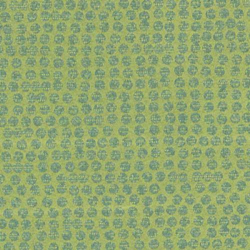 Tier 2 Polka Fabric - Limelight