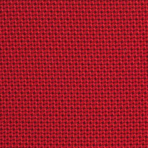 Tier 1 Cross Check Fabric - Red Baron
