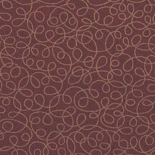 Tier 2 Curlicue Vinyl - Sangria