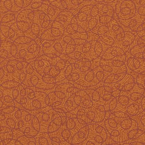 Tier 2 Curlicue Vinyl - Tangerine