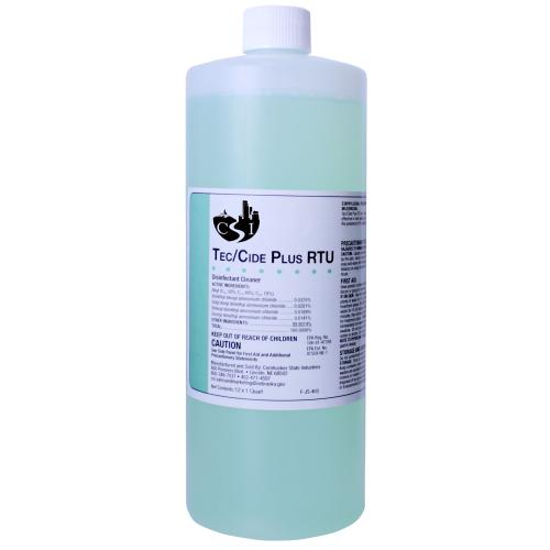 F-JS-403 Tec/Cide RTU Quart Bottles