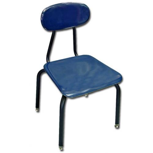 student chair, blue color
