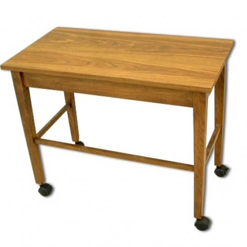utility table with casters